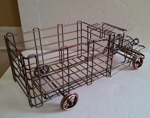 Metal Wire Truck Wine Champagne Bottle Holder London Ontario image 5