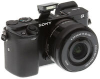 Sony a6000 with 16-50mm lens + warranty and original packaging