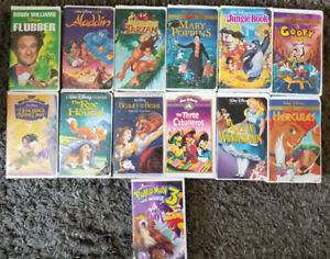 VHS and DVD's