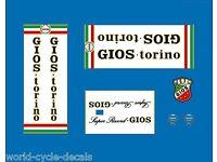 Decal 07511 Gios Oria Hi-Tension Bicycle Tubing Sticker Transfer