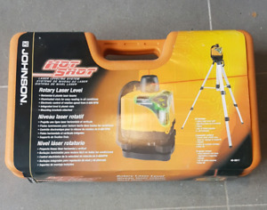 Motorized Rotary Laser Level, Johnson Hot Shot 40-0917