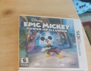 Disney epic mickey 3ds