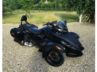 CAN-AM SPYDER 1000 RS ROADSTER GS 1000 STEALTH SUPERB TRIKE + MANY EXTRAS - PX