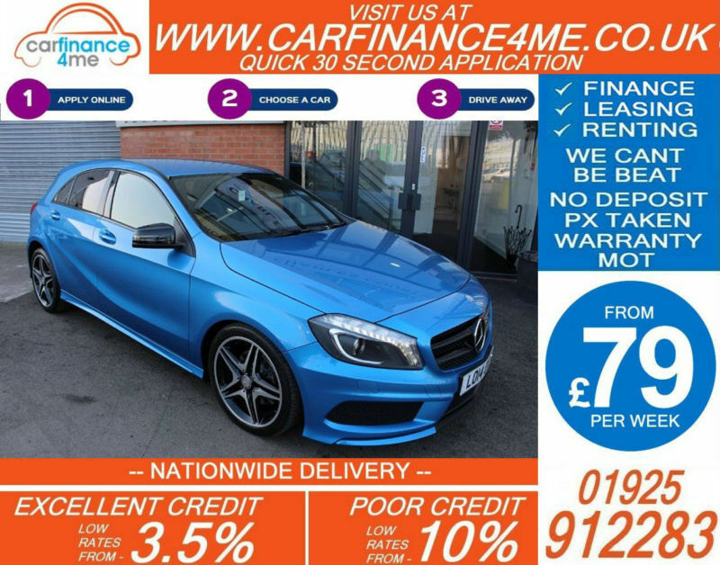 2014 MERCEDES A200 1.6 AMG SPORT GOOD / BAD CREDIT CAR FINANCE FROM 79 P/WK
