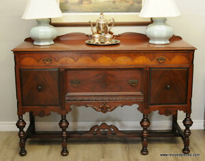 Antique Victorian Buffet / Sideboard by May - Stern