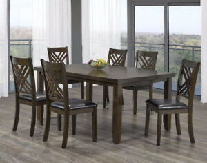 7pcs Kitchen Table On Clearance Sale