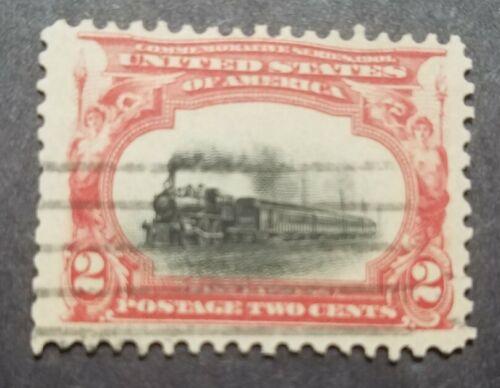 USA Scott 295 - 2 Empire State Express Used. - $3.00