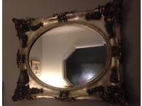 Laura Ashley platinum Beth mirror.