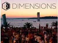 2 x Dimensions Tickets, £120 each ticket, including name change fee