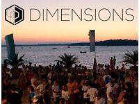 DIMENSION FESTIVAL (CROATIA) TICKET