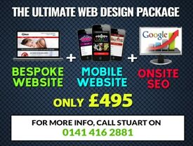 The ULTIMATE Website Package - Get the BEST for LESS! Freelance Web Designer, Developer & SEO.
