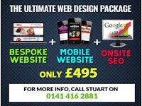The ULTIMATE Website Package - Get the BEST for LESS! Freelance Web Designer, Developer & SEO.