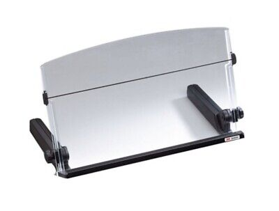 3m Adjustable Document Copy Holder In-line With Monitor Minimizing Head Dh640