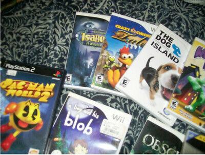 Nintendo Wii Gamecube lot bundle w ps2 games