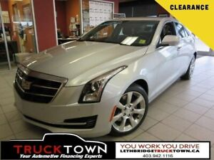 2015 Cadillac ATS LUXURY AWD-HEATED LEATHER-SUNROOF-REMOTE START