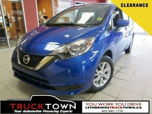 2017 Nissan Versa Note BACKUP CAM-HEATED SEATS-BLUETOOTH
