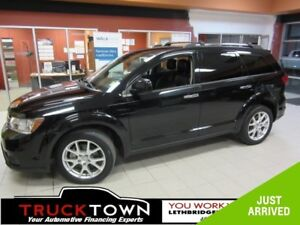 2014 Dodge Journey R/T FULLY LOADED-LOW KMS!