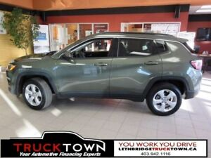 2018 Jeep Compass NORTH-LEATHER-BLUETOOTH