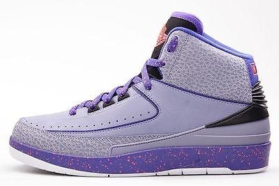 Air Jordan Retro 2 Iron Purple   Size 12 Rare New With Box   Nike Com Receipt