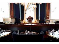Receptionist Required for stunning Award-Winning Restaurant