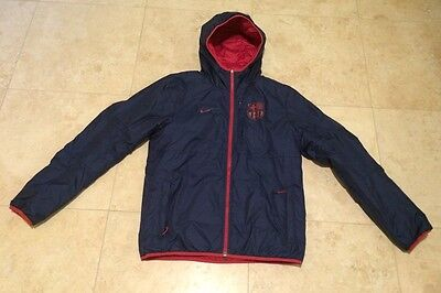 494420945f5 NEW NIKE FC BARCELONA ALLIANCE FLIP IT WINTER JACKET US SIZE M 546804-642