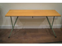 Teak Top Mid Century Knitting/Sewing Table