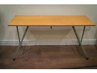 Retro Vintage Mid century Modern Folding Teak table
