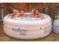 Hot Tub Hire-Lazy Spa Vegas with Gazebo