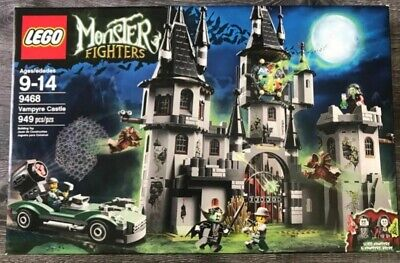 Lego 9468 Monster Fighters Vampyr Castle , New, Sealed, Retired, Fast Shipping!!