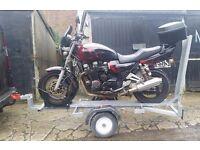 Motorbike Trailer with Ramp £230