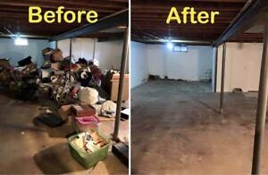 JUNK REMOVAL - REMOVE YOUR CLUTTER - TAKE AWAY YOUR JUNK - GARBAGE REMOVAL SERVICES - GARAGE CLEAN UP, CONSTRUCTION