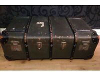 VINTAGE TRUNK / CHEST / OTTOMAN