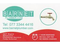 Emergency Plumber 24 hr service in Barnet and North London area