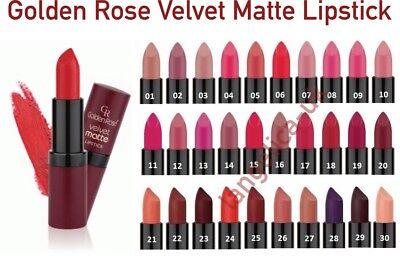 Golden Rose Velvet Matte Lipstick Soft with Vitamins Best Price Sexy