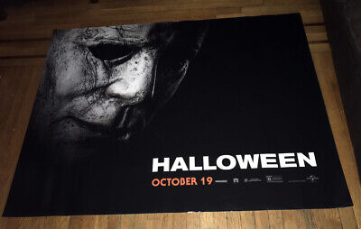 HALLOWEEN 2018 5FT SUBWAY MOVIE POSTER #1 2018 Michael Myers