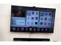 """42"""" LG LED smart WiFi built in"""