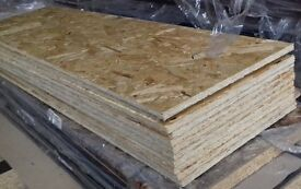 12 pieces of NEW Norbord Sterling OSB3 Board 11mm x 46in x 11¾in (1170mm x 300mm)