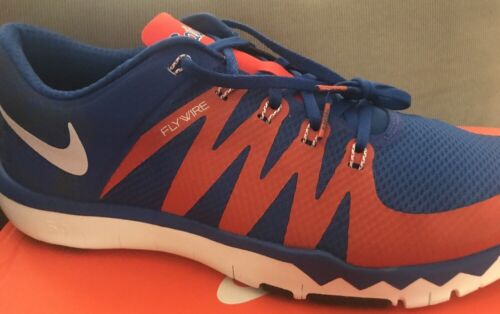 6db761fa303f ... NEW Nike Florida Gators 5.0 V6 AMP Free Trainer Blue Orange Men s Size  13 фото ...