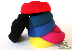 PillBox Wool felt hood body woolfelt millinery block base hat fascinators cap - <span itemprop=availableAtOrFrom>Bielsko-Biala, Polska</span> - PillBox Wool felt hood body woolfelt millinery block base hat fascinators cap - Bielsko-Biala, Polska