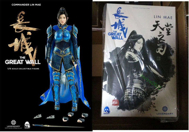 "1//6 The Great Wall Movie Star Jing Tian Head Sculpt F 12/"" Female Figure Body"
