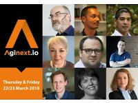 Aginext.io London Conference - 22/23 March 2018