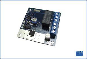 BLOCKsignalling SS1 Model Railway Train Shuttle Timer Circuit Module Controller