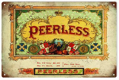 Peerless Cigar and Tobacco Sign Garage Art