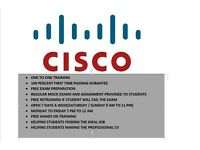 Fast track and one to one Cisco CCNA , CCNP and CCIE training. Only two mints from ilford station