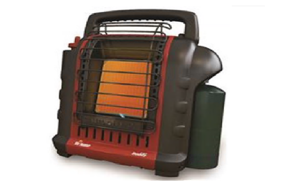 Mr. Heater Buddy Heater 9K BTU Propane Fueled, Red, MH9BX, N
