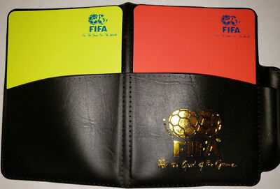 da92a8dd4 New Sport Football Soccer Referee Wallet Notebook with Red Card and Yellow  Card