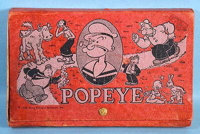 Popeye the Sailor School Box Olive Oil Wimpy Sweet Pea KFS Eagle Pencil Co. - Sweet Pea Popeye