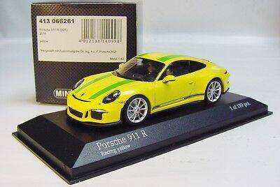 Minichamps 412066220-2er set Porsche 911 R 2016 1967 record car 1:43 499 PCs