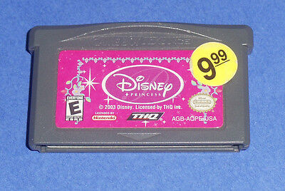 Disney Princess (Nintendo Game Boy Advance GBA) Belle from Beauty and the Beast Belle Beast Games