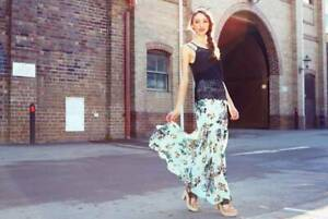 Brand New Fresh Floral Maxi Skirt - Size S